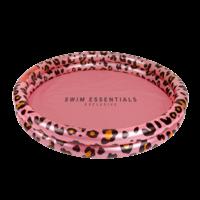 Swim Essentials Kinder zwembad 100cm Panterprint Rose goud