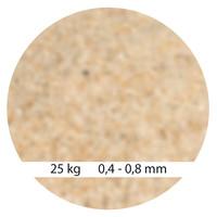 Mega Filterzand 0,4 - 0,8 mm 25kg