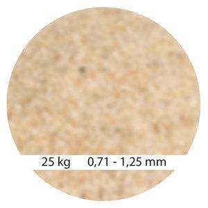 Mega Filterzand 0,71 - 1,25 mm 25kg