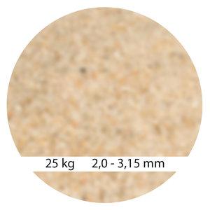 Mega Filterzand 2,0 - 3,15 mm 25kg