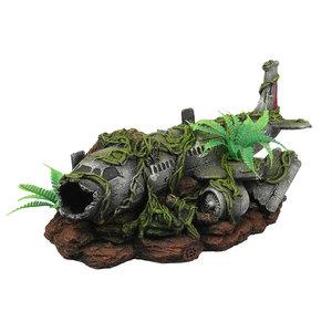 Aqua D'ella Vliegtuigwrak Jungle