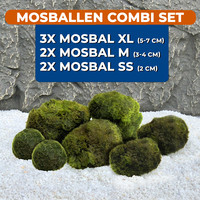 Waterplant Mosballen combinatie set