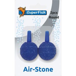 Superfish Luchtsteen kogel blister 2 stuks