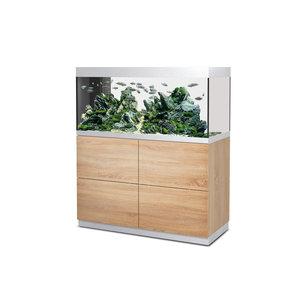 Oase HighLine 300 - Room Divider Aquarium Set Eiken