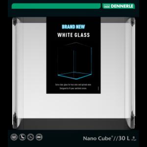 Dennerle NanoCube 30 L - Whiteglass