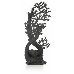 biOrb Fan Coral Black L ornament