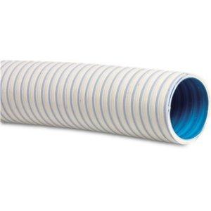 Hi-Fitt Zwembadslang PVC 42 mm x 50 mm 5bar wit type Barrierflex