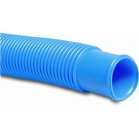 Mega Zwembadslang PVC-U 38 mm blauw (per 3 meter)