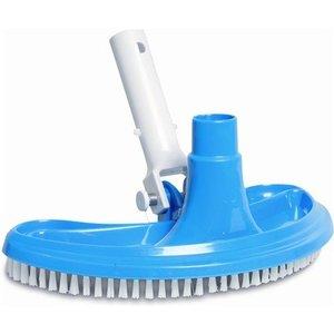 Mega Pool Bodemzuiger blauw, half rond