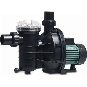 "Hydro-S Zwembadpomp 50 mm / 1 1/2"" metrisch/imperial lijmmof 2,4A 230V type SS050 met RCD stekker"