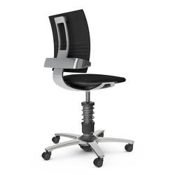 3Dee Comfort zwart | aluminium
