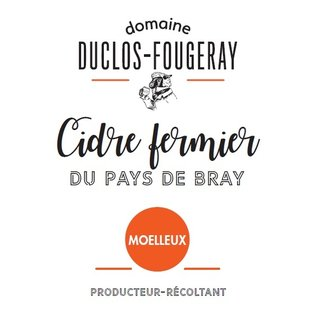 Domaine Duclos Cidre Moulleux