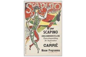 Vintage affiche - 10 jarig jubileum