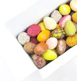Assortiment chocolade paaseitjes in ballotin - 750 g