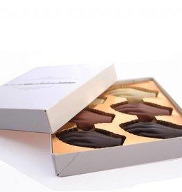 Antwerpse Handjes - klein - chocolade gevuld