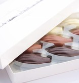 Antwerp Hands - chocolates with filling - large box 24 pieces