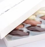 Antwerpse Handjes - chocolade gevuld - grote doos 24 st