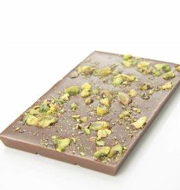 Melkchocolade met pistache