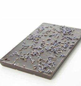 Dark chocolate with lavender