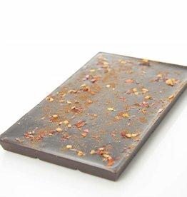 Pure chocolade met chilipeper