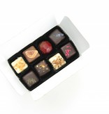 Assortment of 14 handmade chocolates