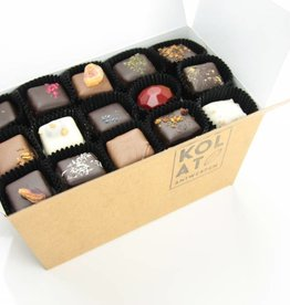 Assortment of 60 handmade chocolates