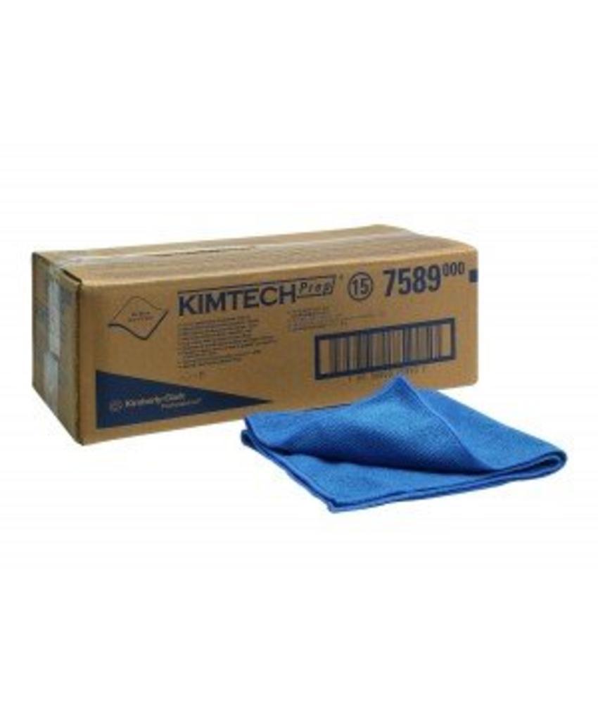 KIMTECH* Microfiber poetsdoeken voor oppervlakvoorbereiding - Blauw