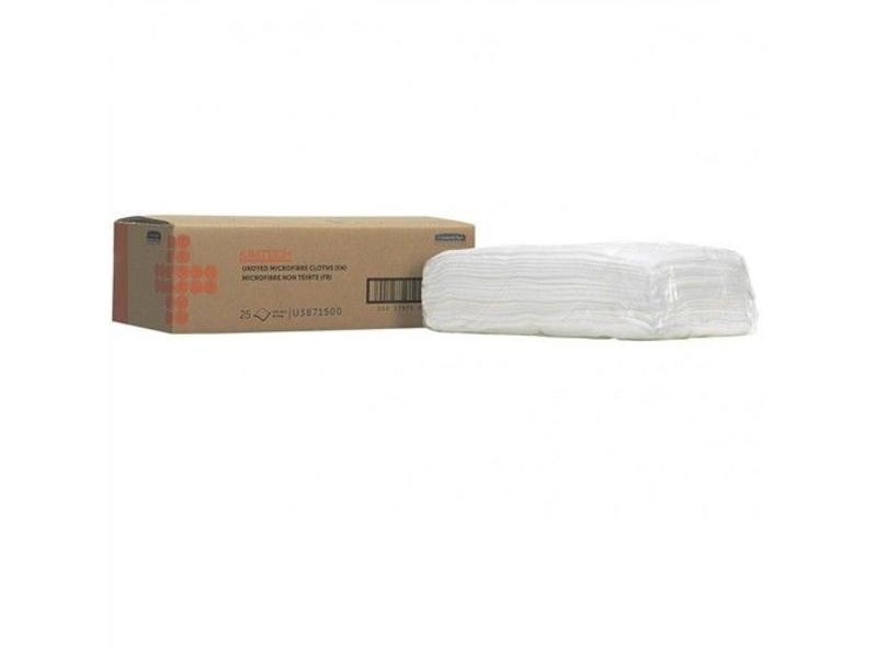 Kimberly Clark  KIMTECH* AUTO Microfiber poetsdoeken voor oppervlakvoorbereiding - Doek - Wit
