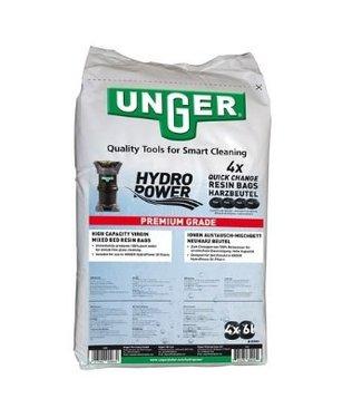Unger Unger nLite HydroPower QuickChange 4x hars zak 6l in zak