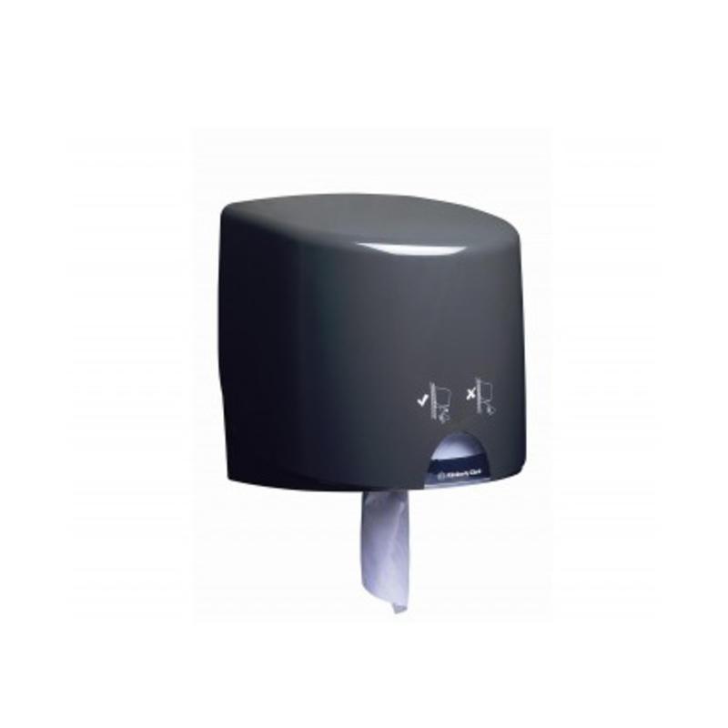 AQUARIUS* Poetsdoek Dispenser - Roll Control - Grijs