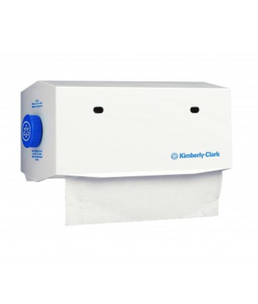 KIMBERLY-CLARK PROFESSIONAL* Rolhanddoekdispenser - 25 cm - Wit