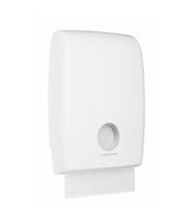 Kimberly Clark AQUARIUS* MULTIFOLD Gevouwen Handdoek Dispenser - MultiFold - Wit