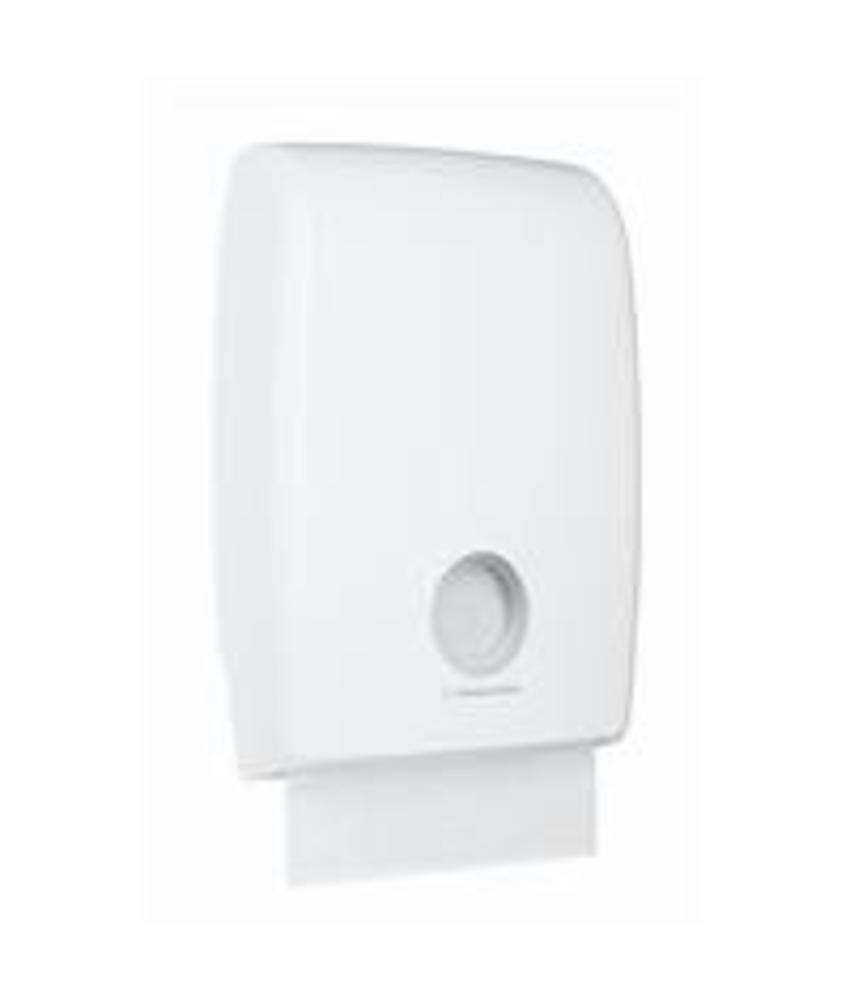 AQUARIUS* MULTIFOLD Gevouwen Handdoek Dispenser - MultiFold - Wit