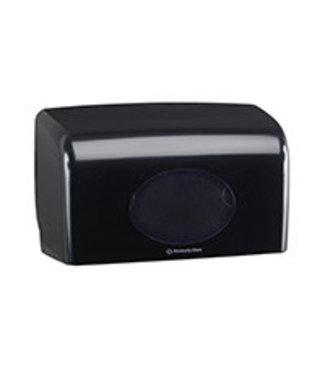 Kimberly Clark AQUARIUS* Toilettissue Dispenser - Kleine rollen - Zwart