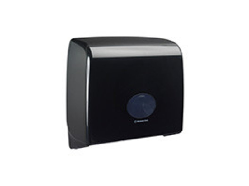 Kimberly Clark AQUARIUS* Toilettissue Dispenser - Jumbo Non-Stop - Zwart