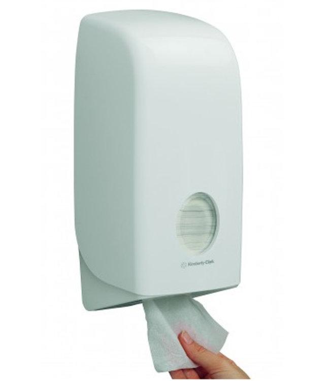 Kimberly Clark AQUARIUS* Toilettissue Dispenser - Wit