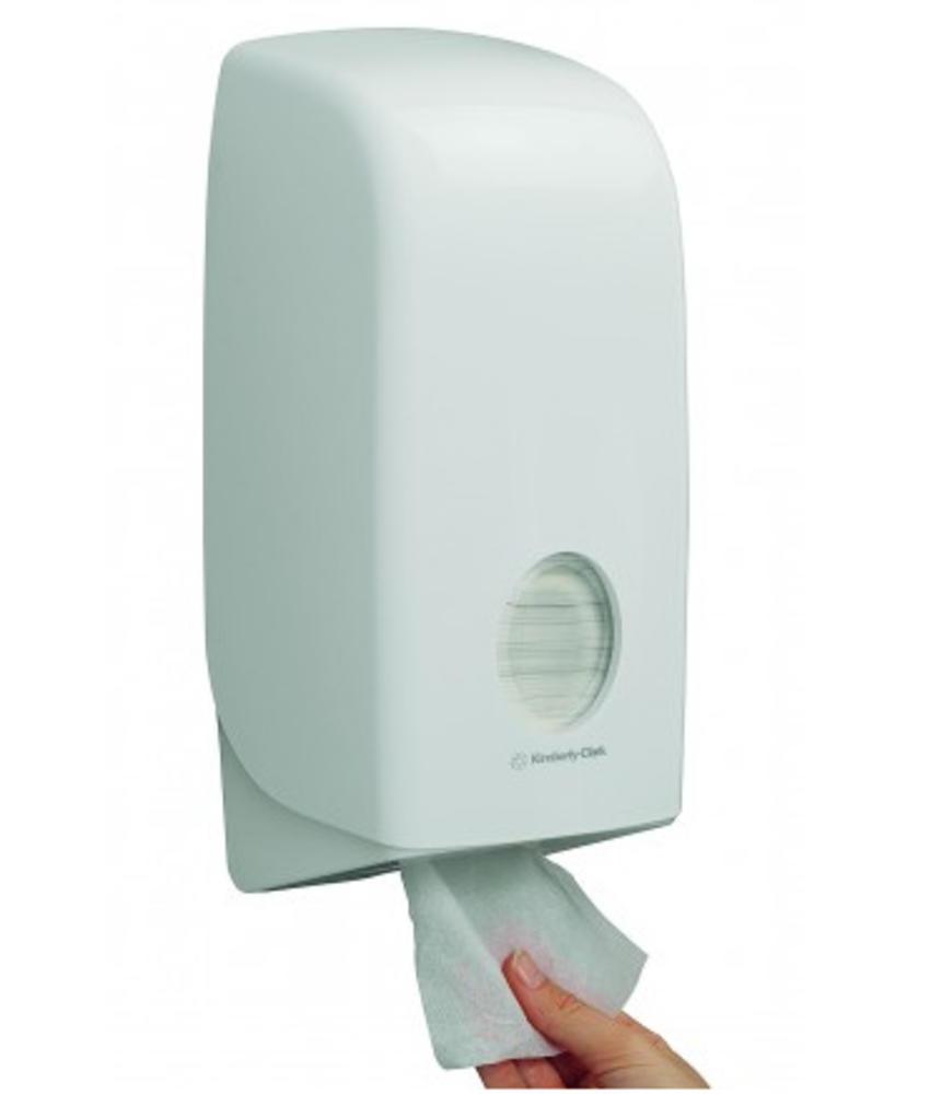 AQUARIUS* Toilettissue Dispenser - Wit