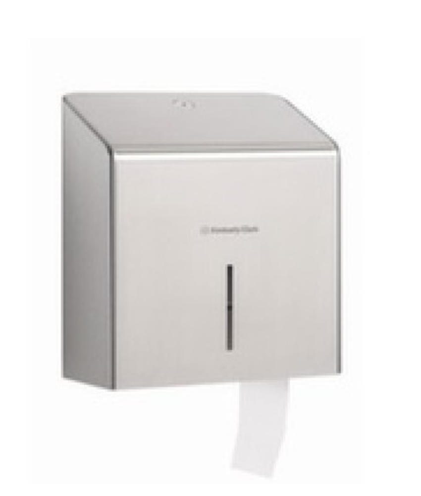 KIMBERLY-CLARK PROFESSIONAL* Toilettissue Dispenser - Mini Jumbo - Roestvrij staal