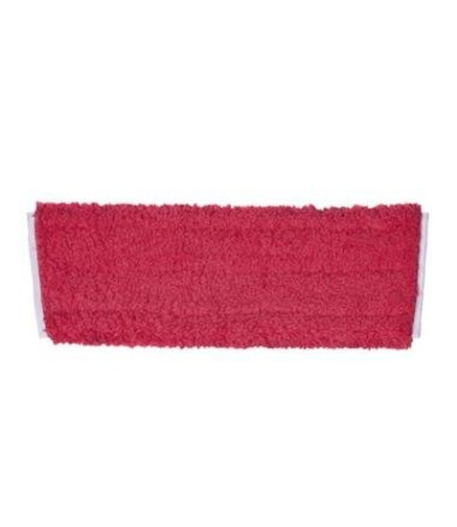 Johnson Diversey TASKI JM Hygiëne microvezelmop rood - 40 cm