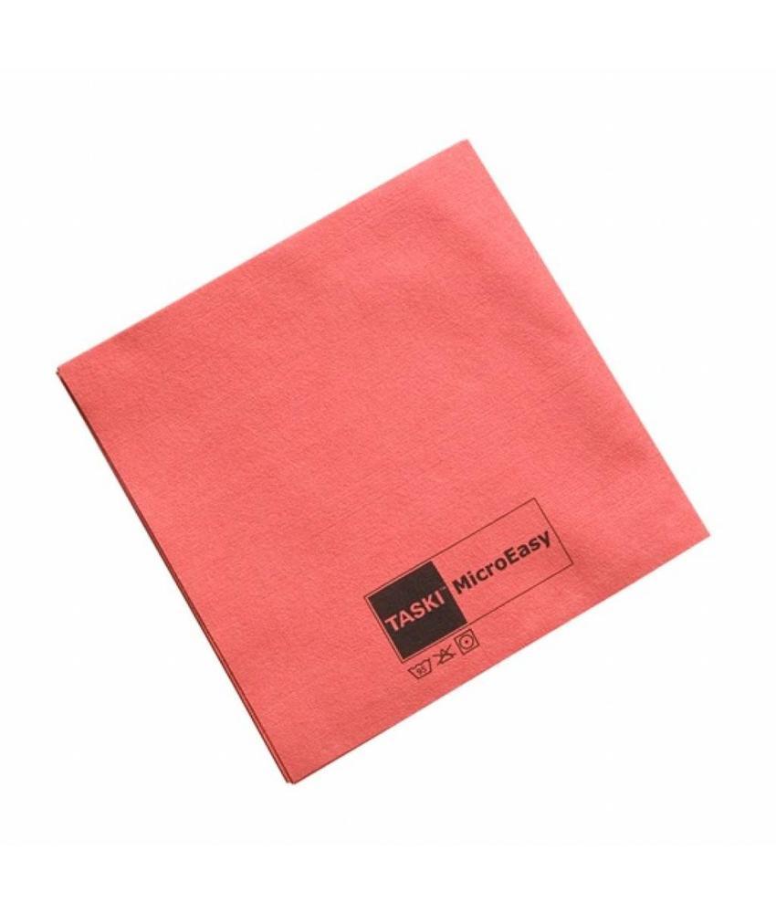 TASKI MicroEasy reinigingsdoek - rood - pak 5 stuks