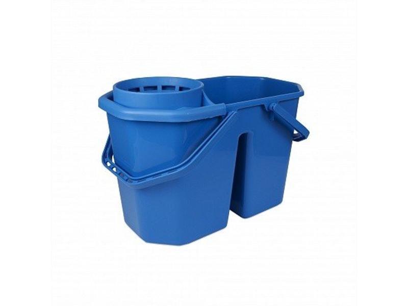 Johnson Diversey TASKI Spaanse mopemmer dubbel - blauw