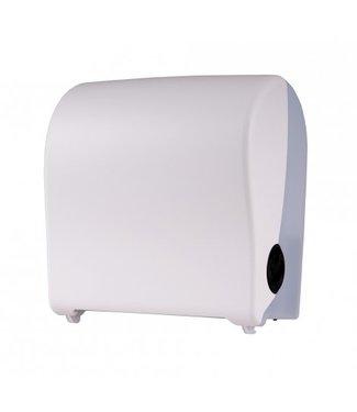 PlastiQline PlastiQline Handdoekroldispenser kunststof wit mini