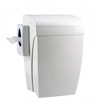 PlastiQline PlastiQline Hygienebak met kniebediening 8 liter
