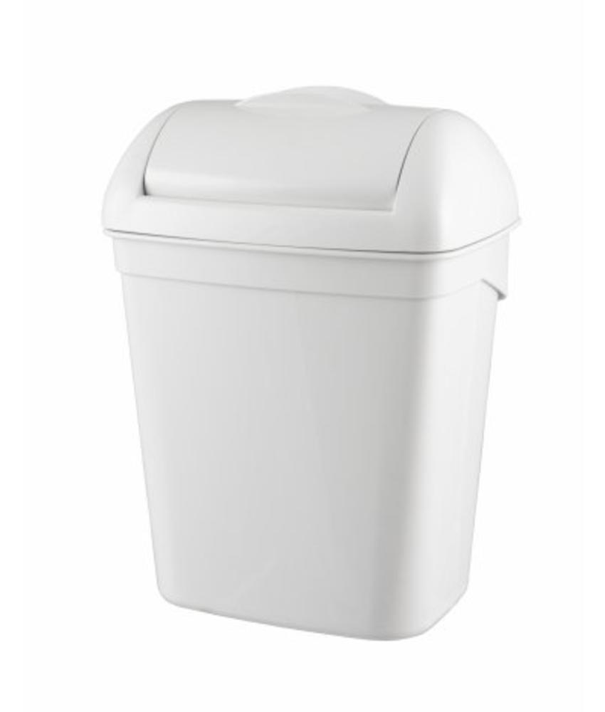 PlastiQline Hygienebak 8 liter kunststof wit