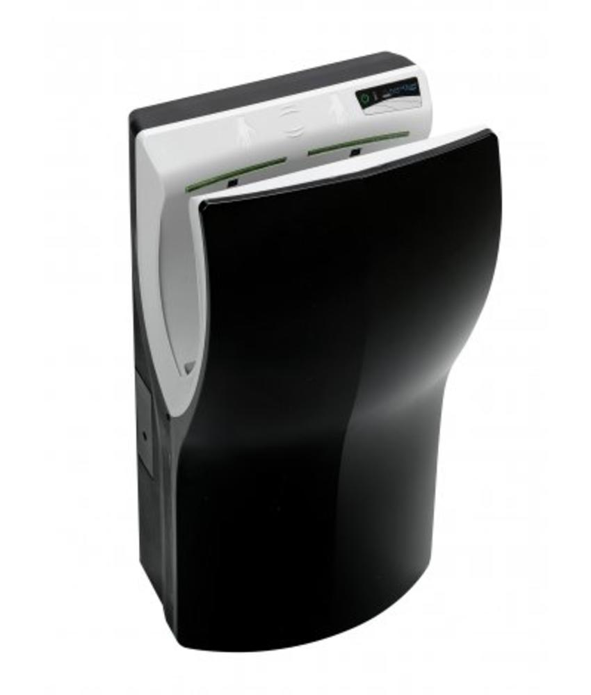 Handendroger hands-in zwart automatisch PlastiQline Exclusive