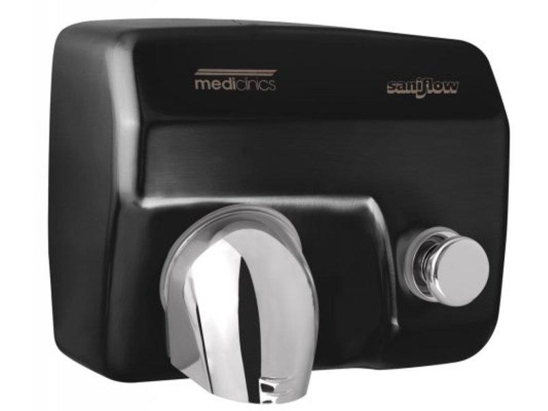 Mediclinics Mediclinics Handendroger zwart drukknop
