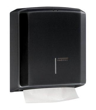 Mediclinics Mediclinics Handdoekdispenser zwart