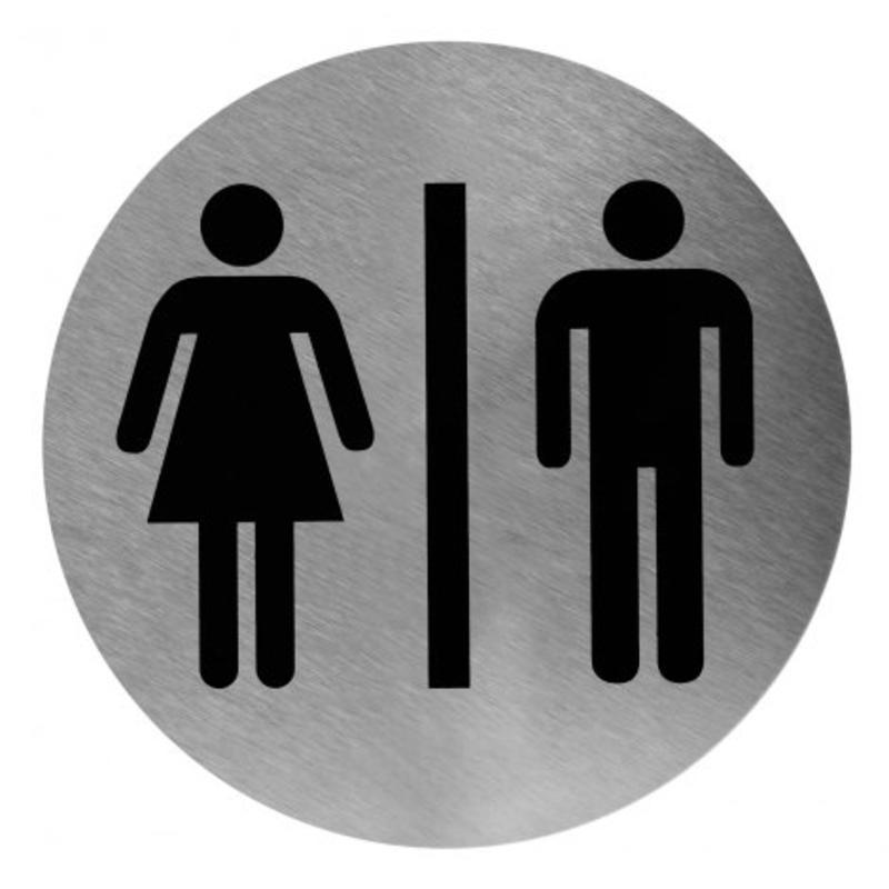 Pictogram man/vrouw RVS Mediclinics