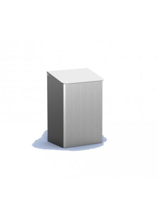 MediQo-line Afvalbak 15 liter aluminium