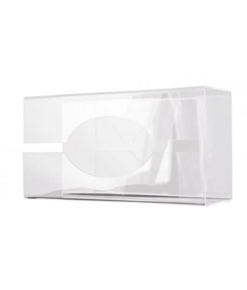 MediQo-line Handschoen-dispenser transparant groot